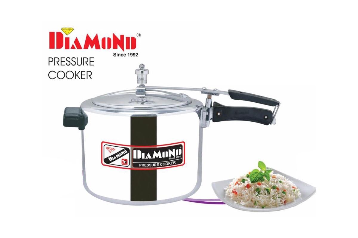 Diamond pressure cooker 10 ltr