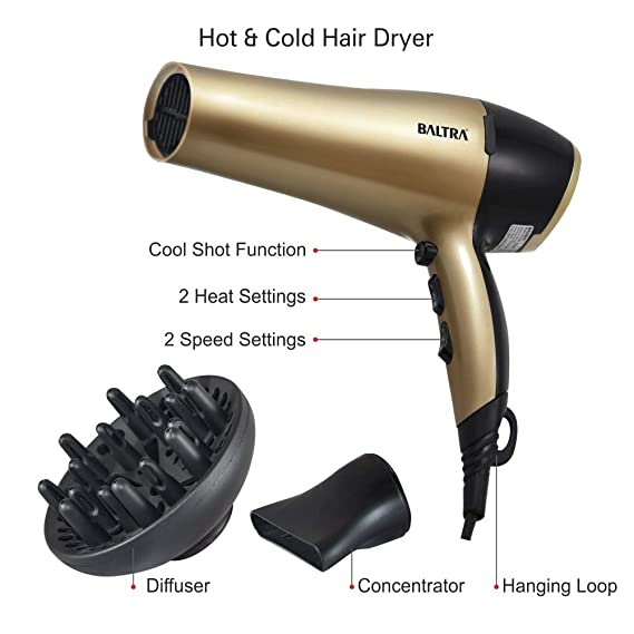 Baltra Hair Dryer (RISER)