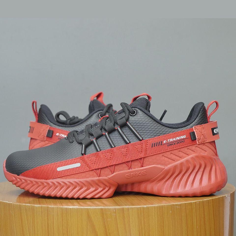 ERKE Black & Red Training Shoes For Men- 11119414510-001