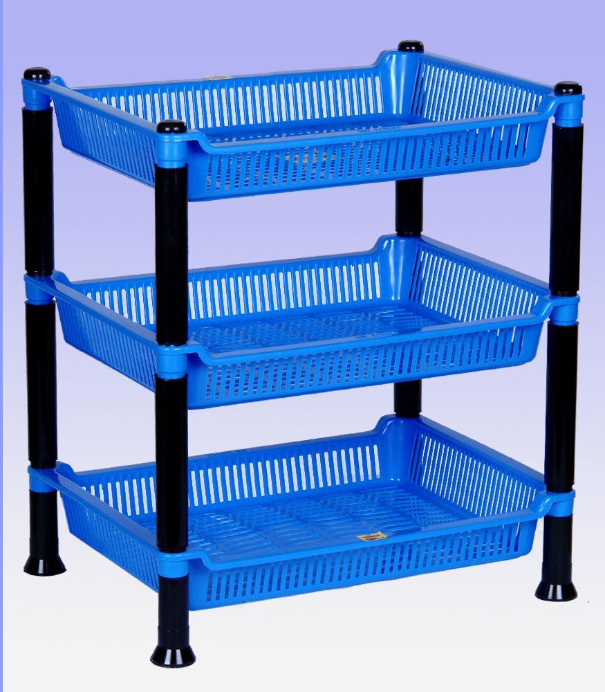 GEM Multipurpose 3 pcs Square Rack