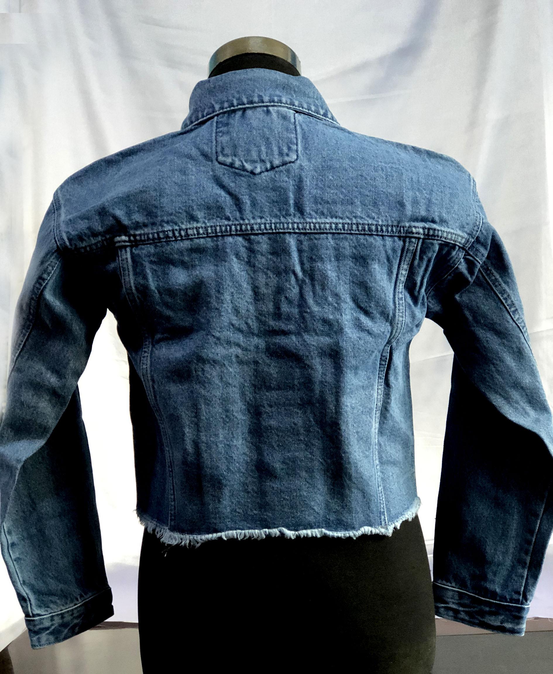 Fashion Jeans Jacket Light Blue