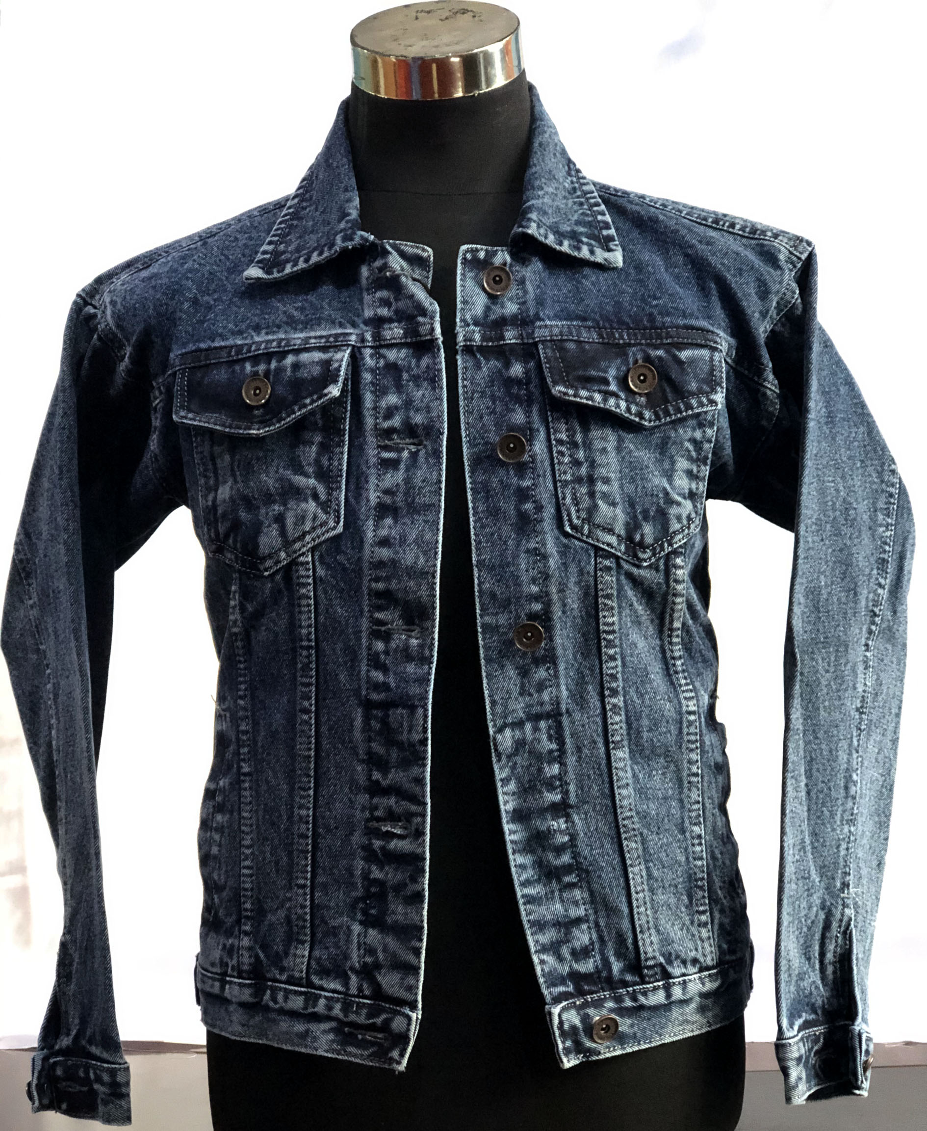 Wrangler Jeans Jacket Dark Blue