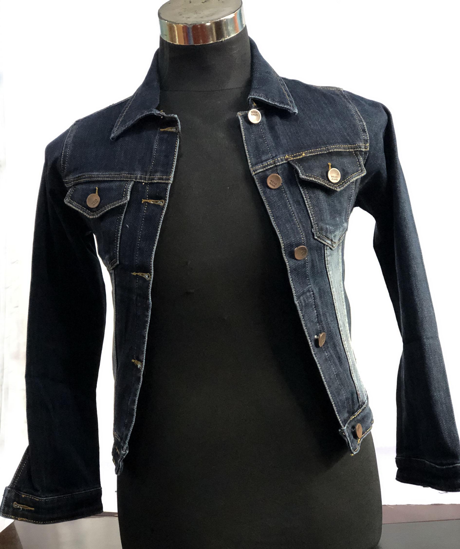 Wrangler Jeans Jacket Premium Dark Blue