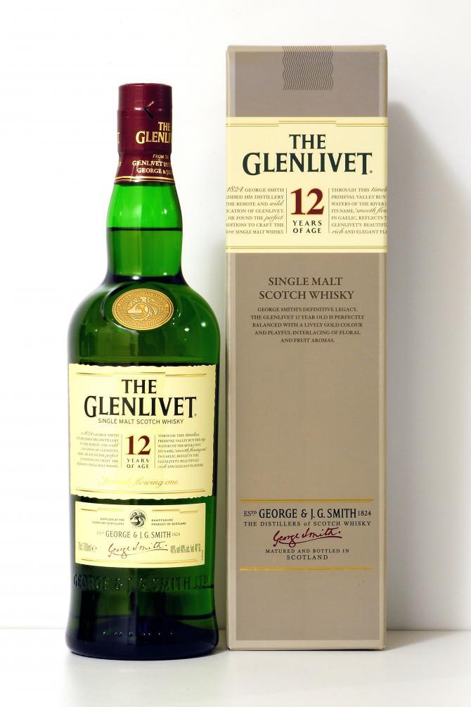 The Glenlivet 12 Yrs Single Malt Whisky