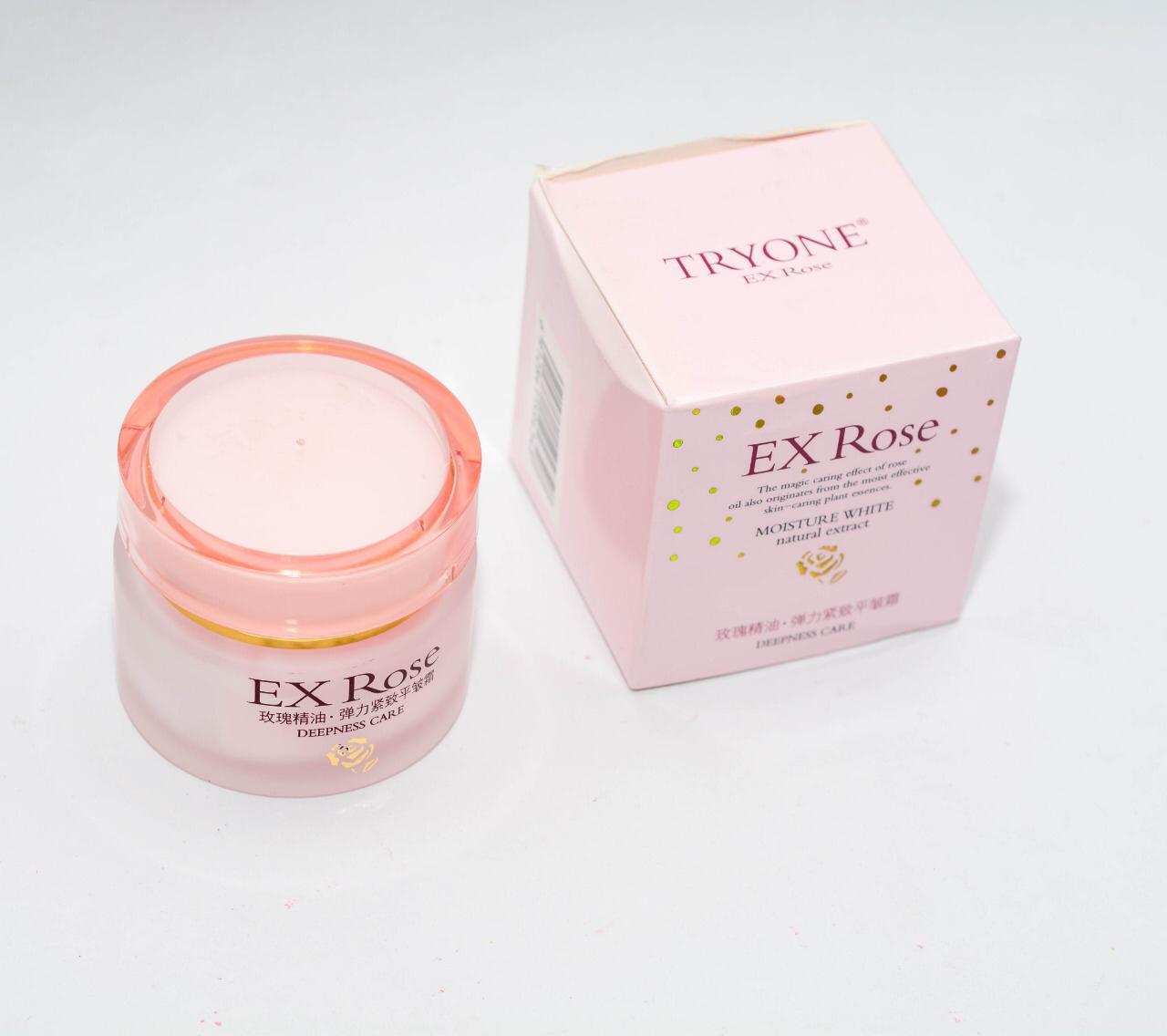 Tryone Ex Rose Deepness Care Moisturizing Cream - 50 Gm
