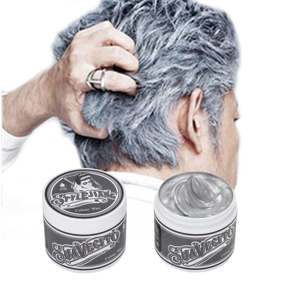 Suavecito Silver Pomade Temporary Silver Color Hair Wax 100ml