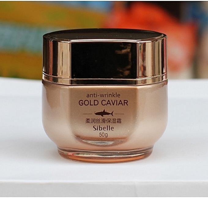 Sibelle Anti-Wrinkle Gold Caviar Hydrating Cream - 50 Gm