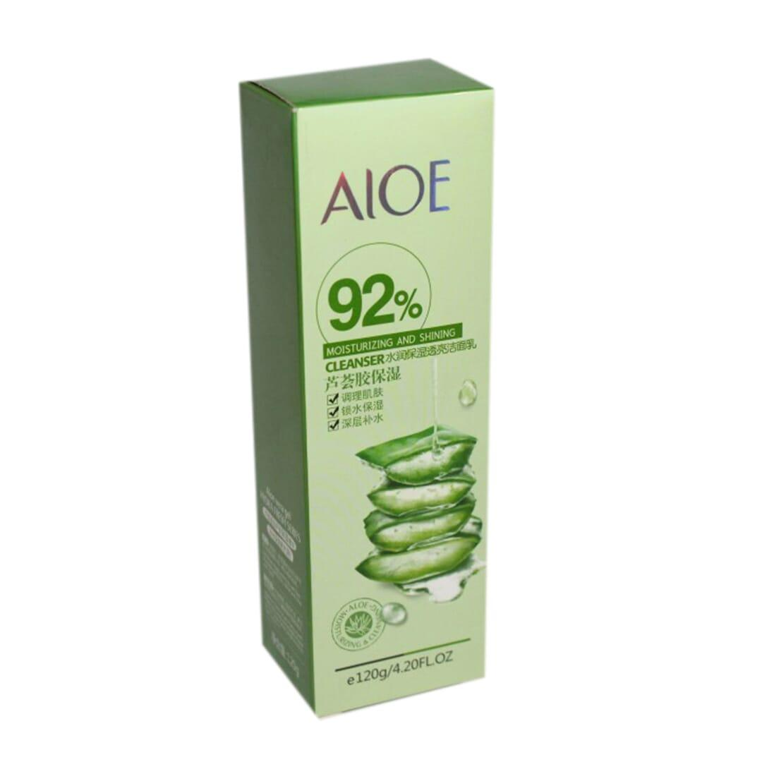 Aloe 92% Moisturizing And Shining Facial Cleanser - 120 Gm