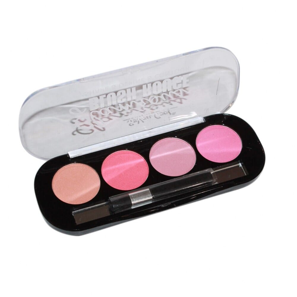 Seven Cool Glamrous Blush-Rouge Palette-Shade 2