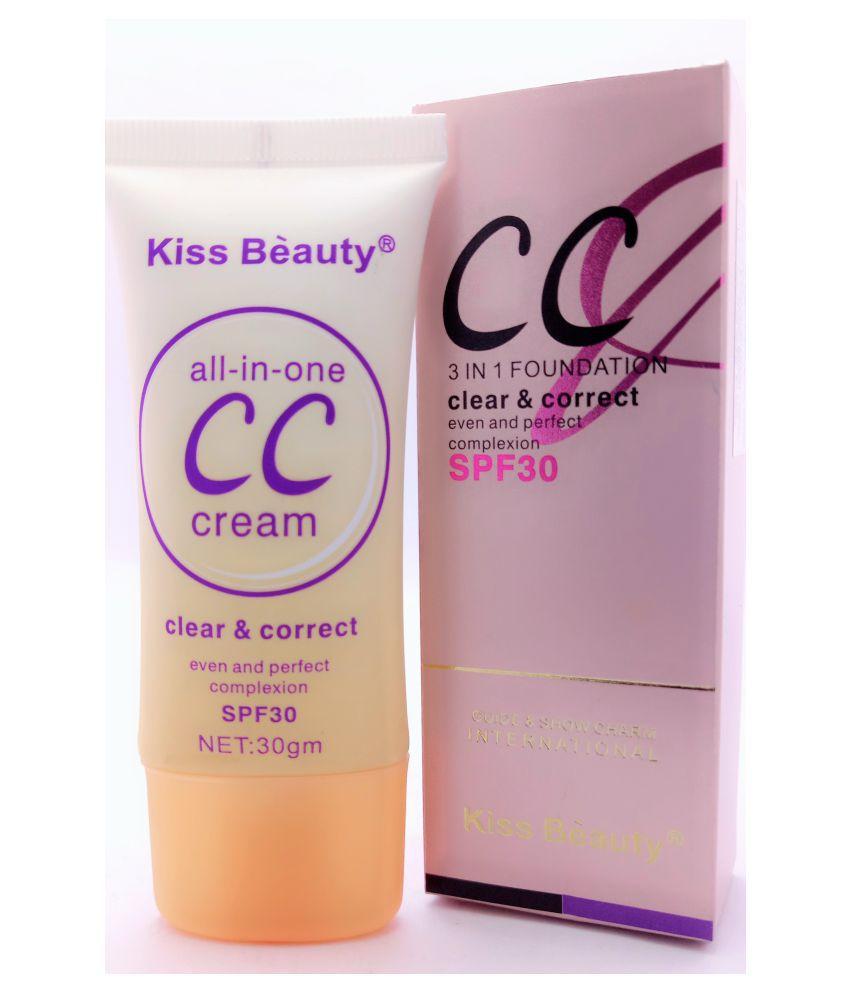 kiss-beauty-cc-3-in-1-cream-foundation-fair-30-g