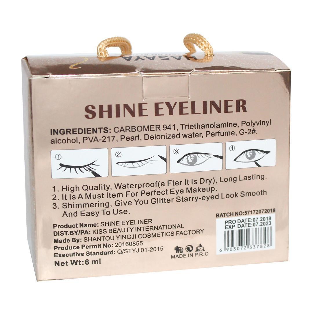 Hasaya Infinite Charm Glittery Shine Eyeliner - Shade No. 03 - 6 Ml
