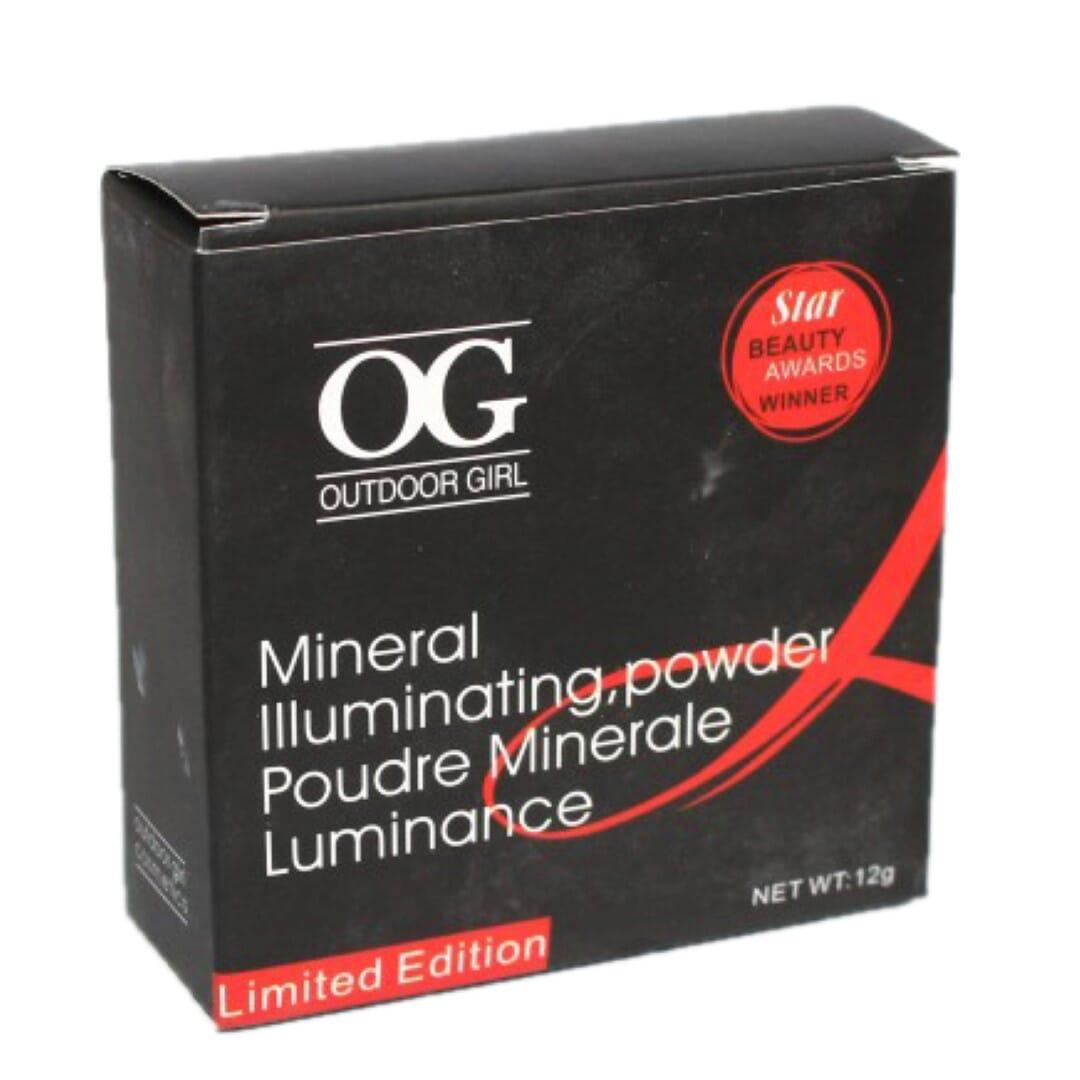 OG Outdoor Girl  Mineral Illuminating Compact Face Powder - 12 Gm Limited Edition