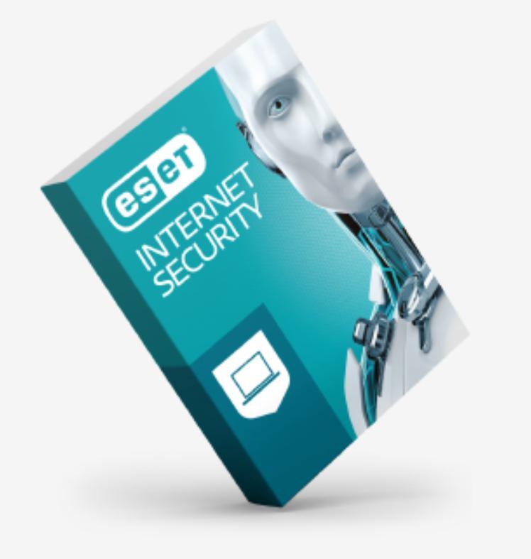 ESET Internet Security- 1 User 1 Year
