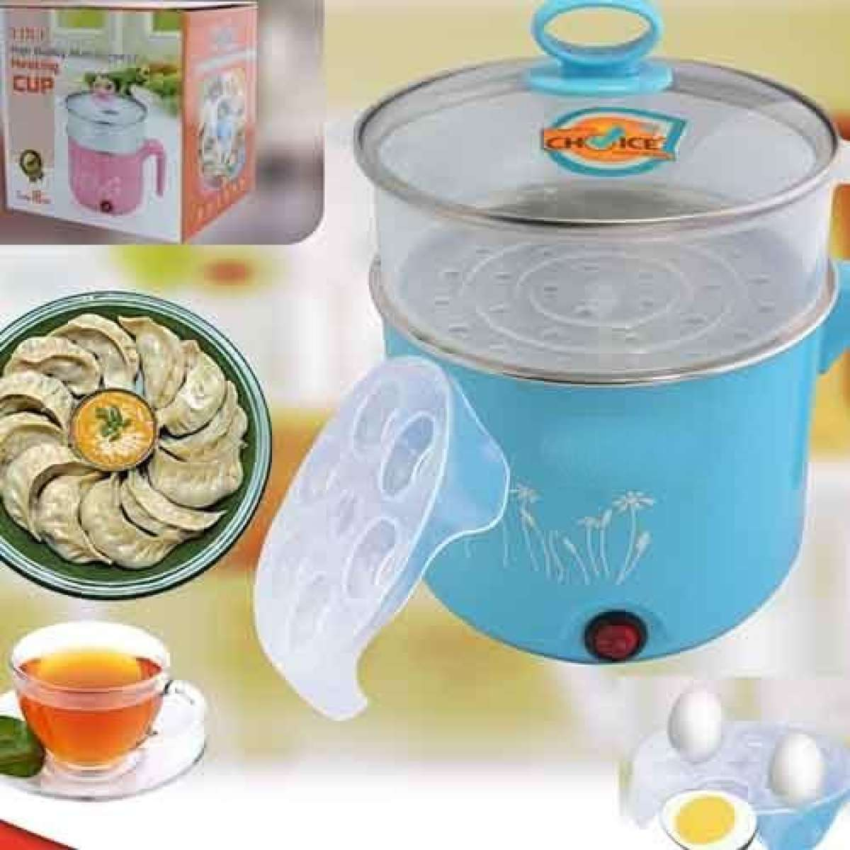 Multifunctional Electric  Multi-Function  Cooker Pot Steamer