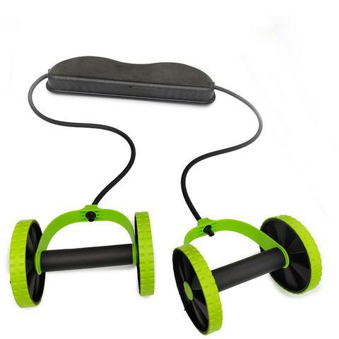 Ab Roller Wheel Mat Abdominal Trainer Wheel  Multi-functional Fitness Equipment