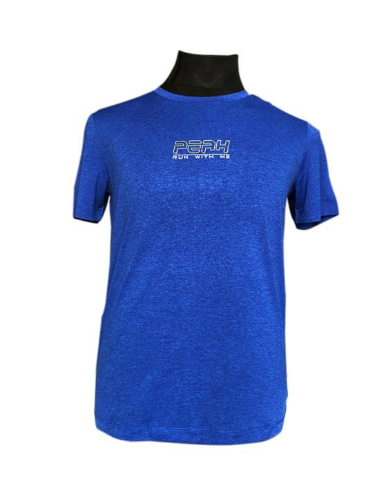 PEAK Round Neck T-Shirt For Men-FW602267