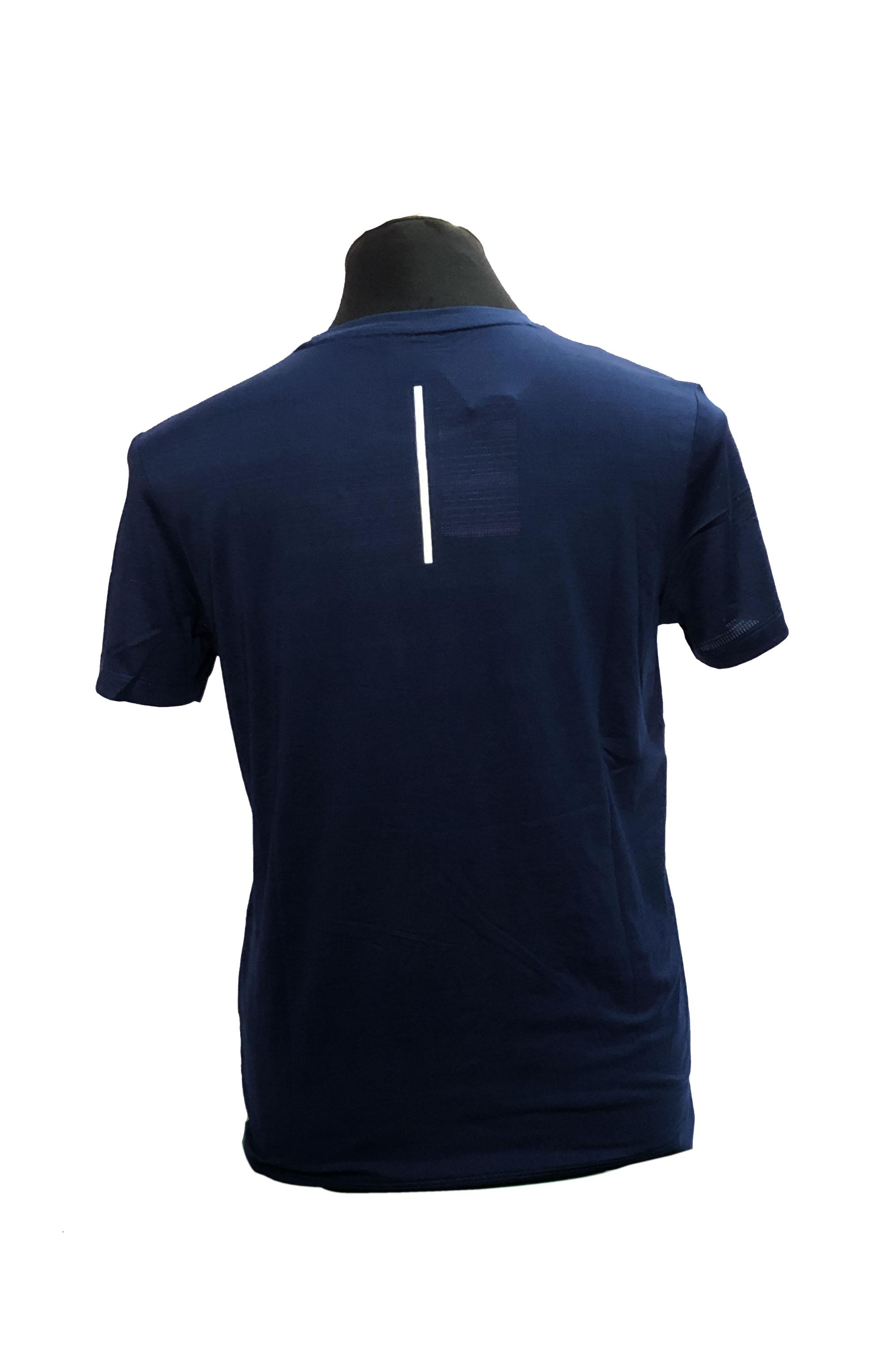 PEAK Round Neck T-Shirt For Men-FW602557 DK