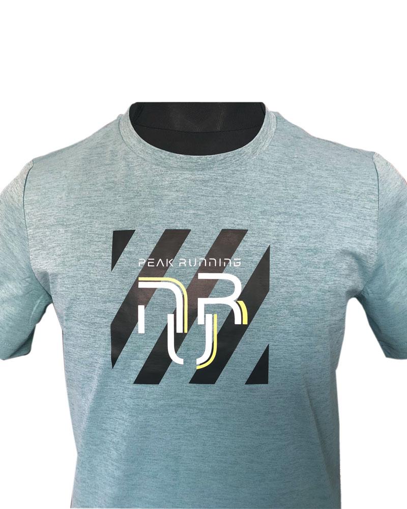 PEAK Round Neck T-Shirt For Men-FW602565