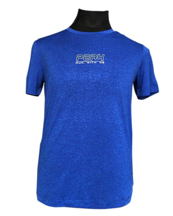 PEAK Round Neck T-Shirt For Men-FW602267 WB