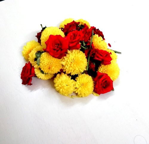 Mixed Flowers for Puja