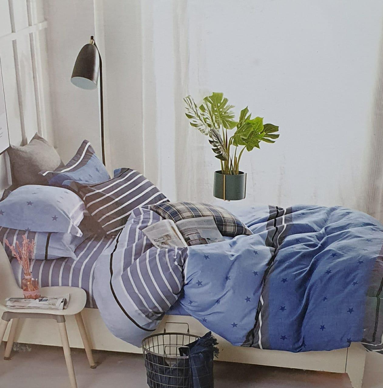 King size bedsheet set 4