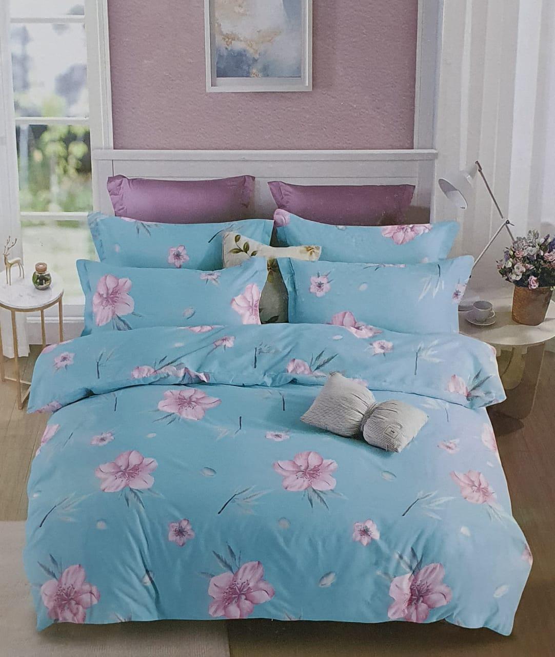 King size bedsheet set 5