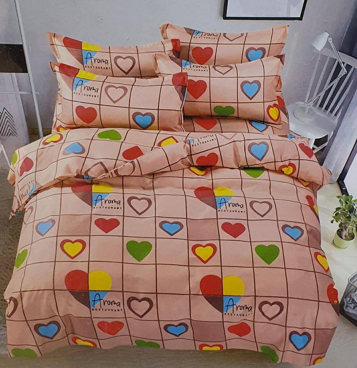 King size bedsheet set 6