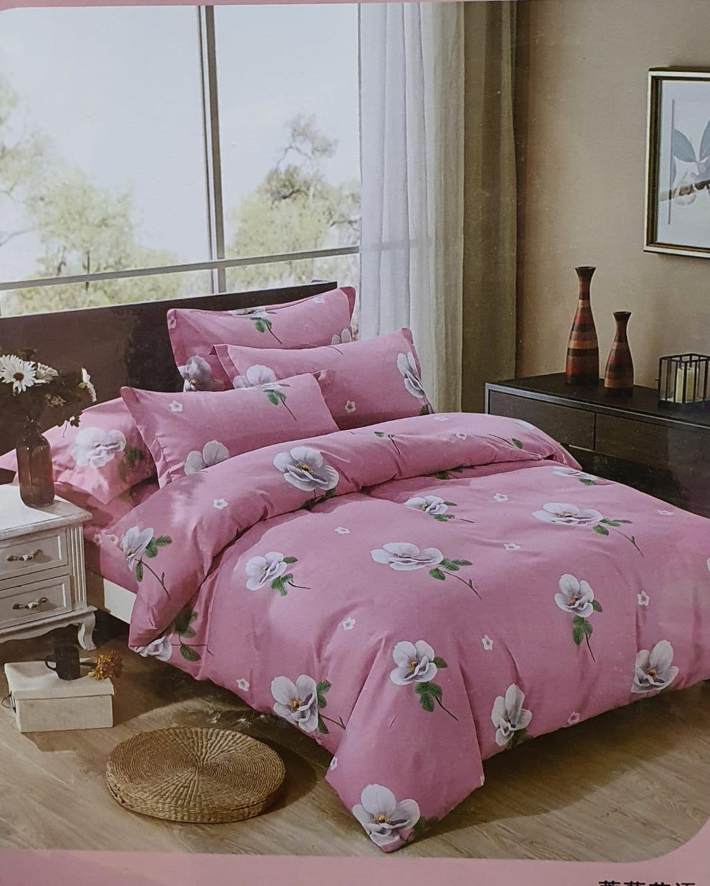 King size bedsheet set 7
