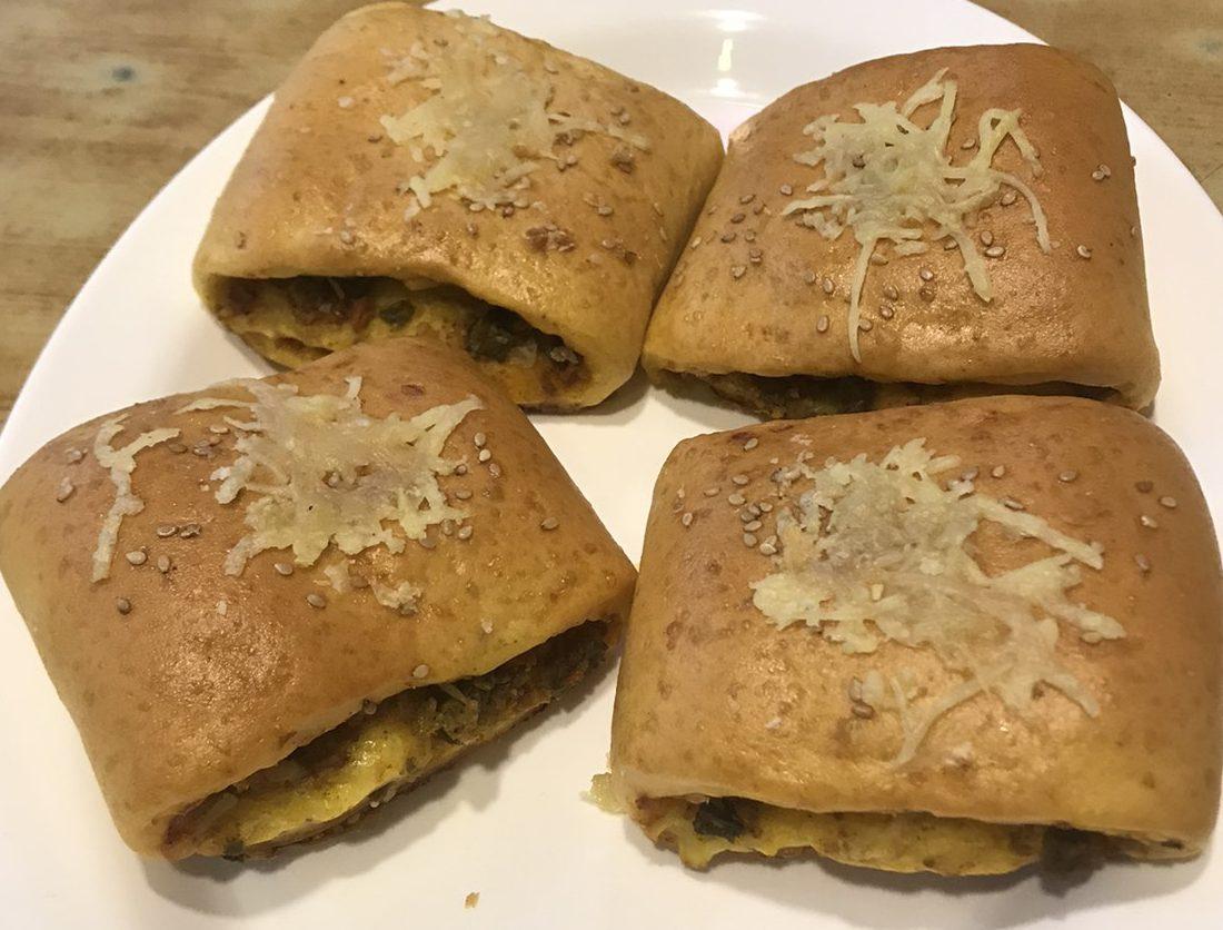 Veg Pizza Wrap