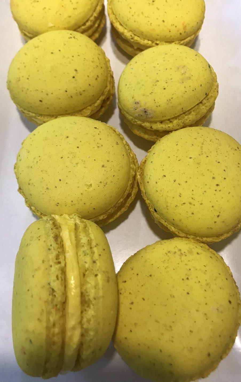 Mango Macaroons