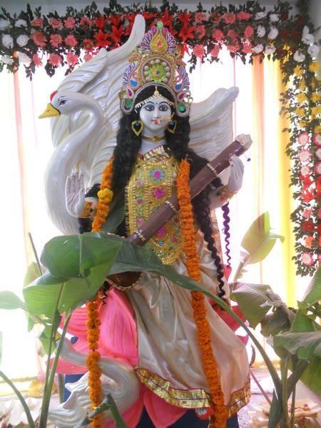 सरस्वती  को सम्पुर्ण सामाग्री/ nwaran ko samagree