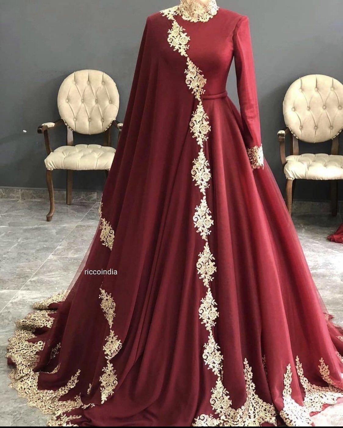 Velvet Red Gown