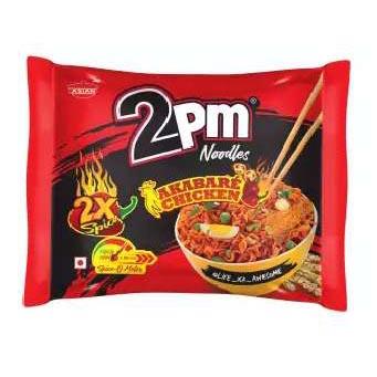 2PM Spicy Akbare  Noodles- Chicken (100gm x16 pcs)/Box