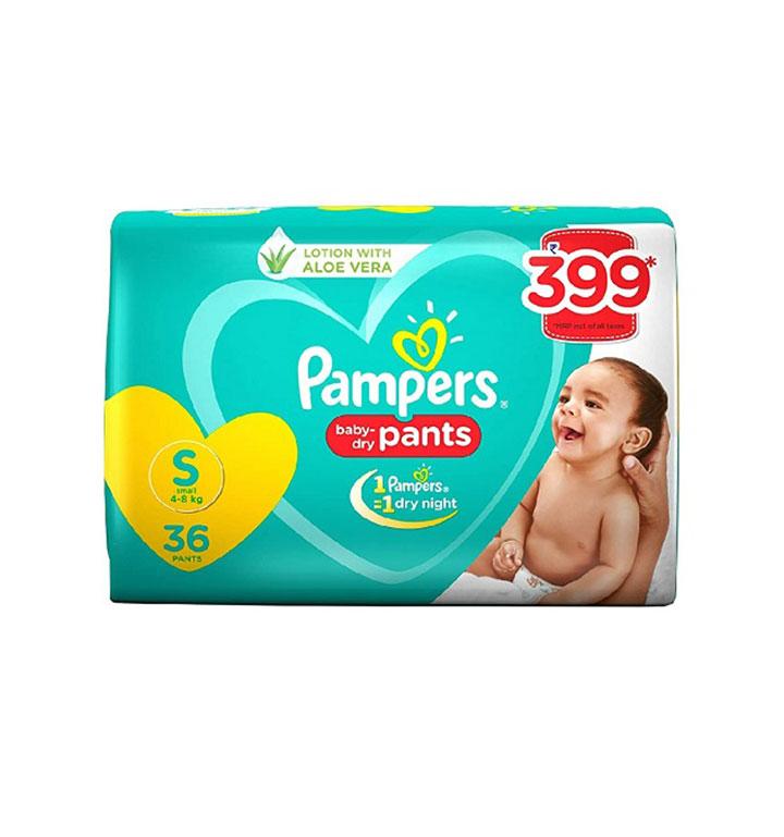 Pampers Pants - Small (प्याम्पर पाइन्टस) (38pcs)/slab