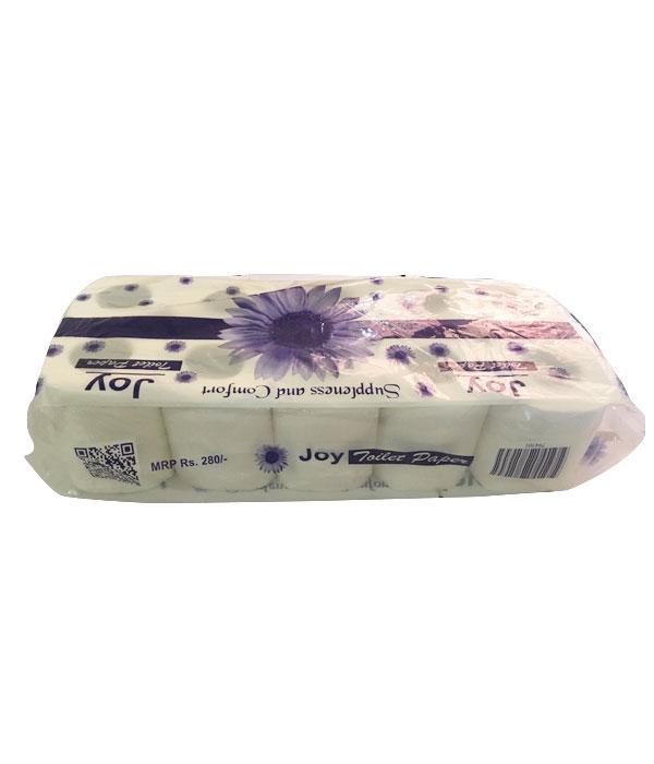 Joy Toilet Paper (टोइलेट पेपर) (75gm x 10pcs)-slab