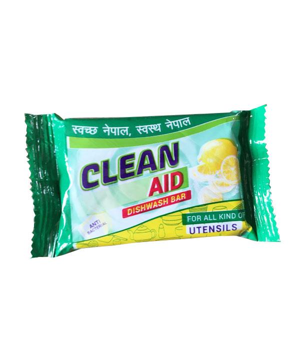Clean Aid Dish Wash Soap (100gm x 12Pcs)