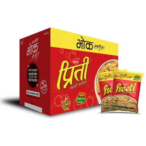 Preeti Noodles Chicken (प्रिती नुडल्स चिकेन) (70gm x 30pcs)