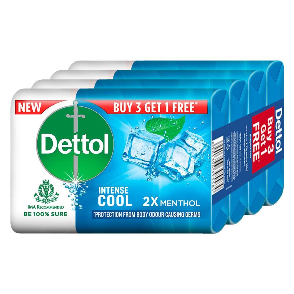 Dettol Soap -Cool Menthol (125gm x 4 pcs)