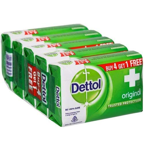 Dettol Soap- Original (125gm x 5 pcs)