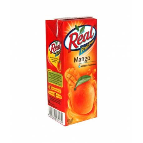 Real Fruit Power Mango Juice (रियल फ्रुट पावर म्याङ्गो जुस) (200ml x 1 pcs)