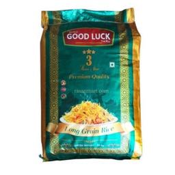 Goodluck 3 Star Long Grain Rice (गूडलक चामल) (20kg)-bora