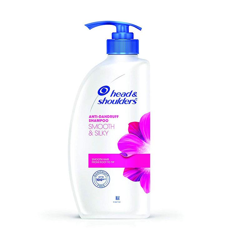 Head & Shoulders 2 in 1 Shampoo - Smooth & Silk (हेड एन्ड शोलडर स्याम्पू) (650ml x 1pcs)-jar