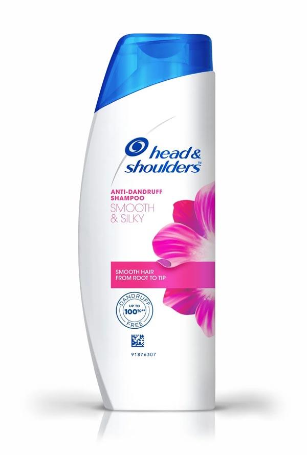 Head & Shoulders Anti-Dandruff Shampoo - Smooth & Silky (हेड एन्ड शोलडर एन्टि-ड्यानड्रफ स्याम्पू) (340ml)-jar