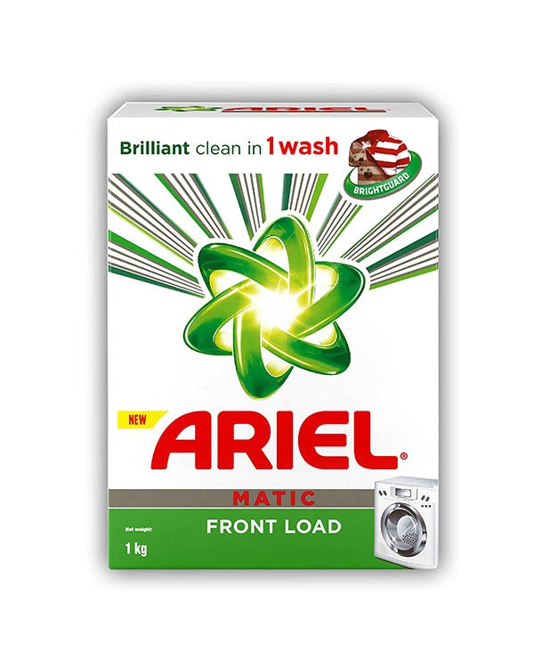 Ariel Detergent Matic Front Load - Surf (एरियल डिटर्जेंट पाउडर - सर्फ)-1 Kg