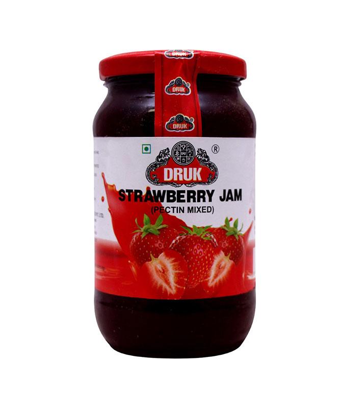 Strawberry Jam (स्ट्रवेरी जाम) (500gm)