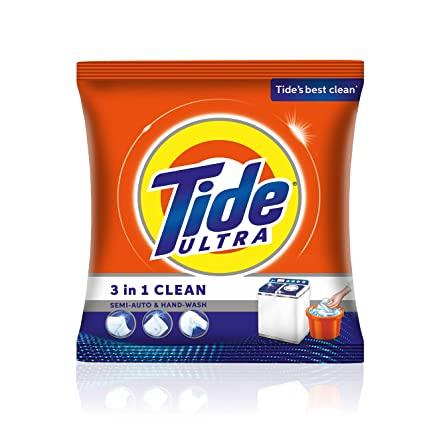 Tide Ultra Detergent Powder - Surf [3 in 1] (टाइड अल्ट्रा डिटर्जेंट पाउडर - सर्फ) (500gm)