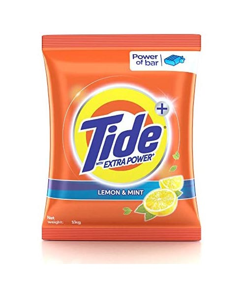 Tide Detergent Powder - Surf [Lemon] (टाइड अल्ट्रा डिटर्जेंट पाउडर - सर्फ) (1kg)