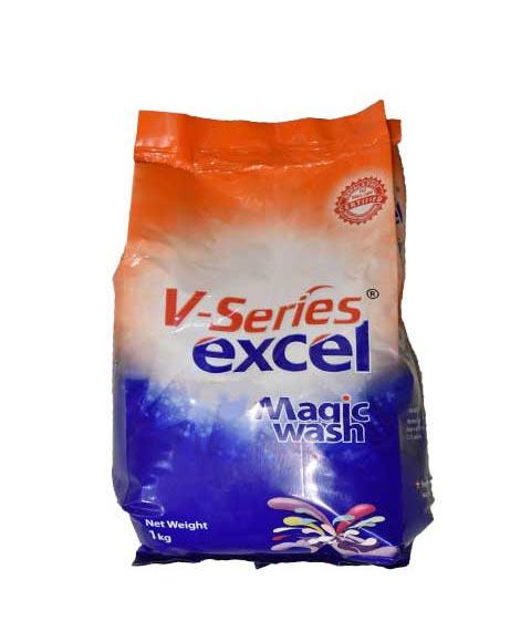 V-Series Excel Magic Wash [Normal Load] Detergent - Surf (भि-सेरिज - सर्फ) (1kg)
