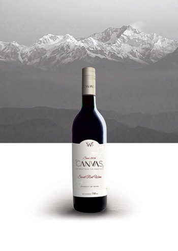 Canvas sweet wine  Red