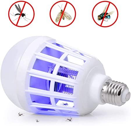 2in1 pest killer LED Bulb Mosquito Killer Lamp Repellent Fly Bug Zapper Insect Killer